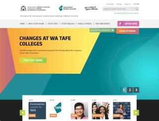 eti.wa.edu.au screenshot