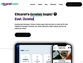 eticaret.com screenshot