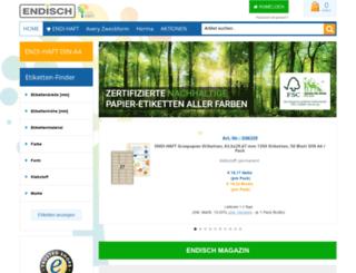 etikettenhandel.de screenshot