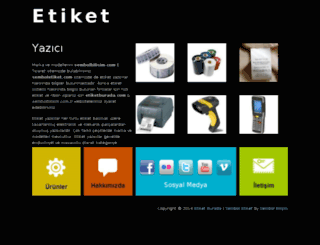 etiketyazici.info.tr screenshot