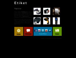 etiketyazicisi.com screenshot