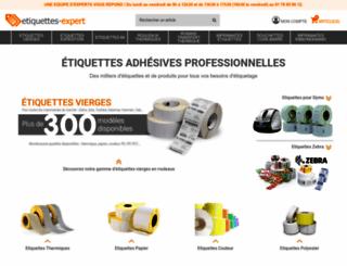 etiquettes-expert.com screenshot