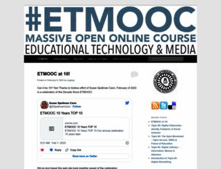 etmooc.org screenshot