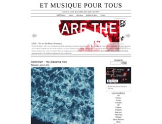 etmusiquepourtous.com screenshot