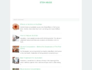 etoh-abuse.com screenshot
