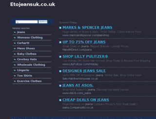 etojeansuk.co.uk screenshot