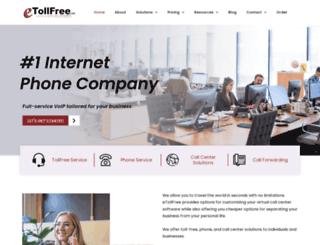 etollfree.net screenshot
