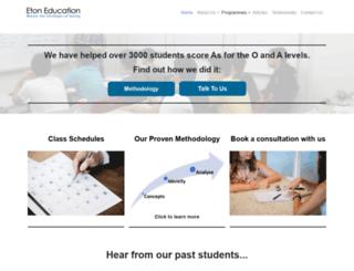 etontuition.com screenshot