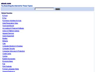 etoot.com screenshot
