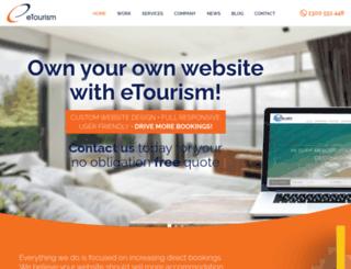 etourism.com.au screenshot