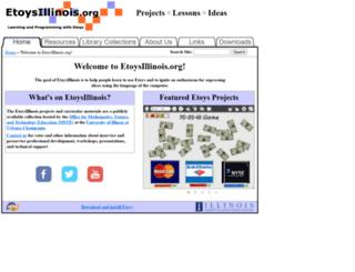 etoysillinois.org screenshot