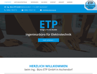 etp-planung.de screenshot