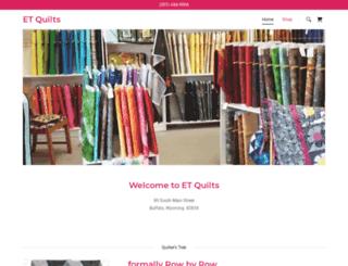etquilts.com screenshot