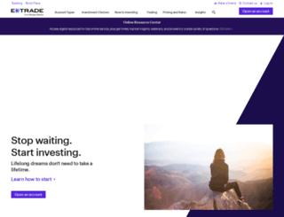 etrade.com.sg screenshot