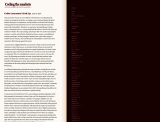 etrading.wordpress.com screenshot