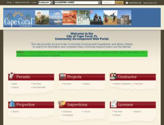 etrakit.capecoral.net screenshot