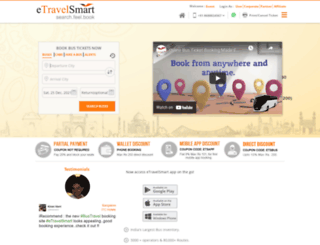 etravelsmart.com screenshot