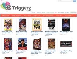 etriggerz.hostedbywebstore.com screenshot