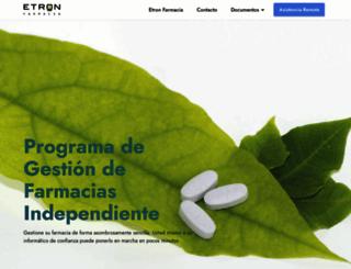 etronfarmacia.com screenshot