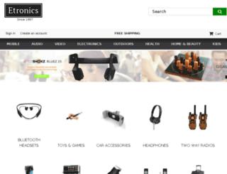 etronics.com screenshot