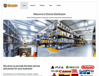 etronixdistribution.com screenshot