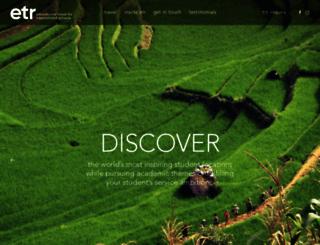 etrtours.com screenshot