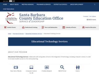 ets.sbceo.org screenshot