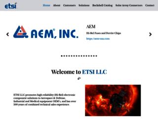 etsi-llc.com screenshot