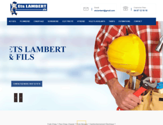 etslambert.com screenshot