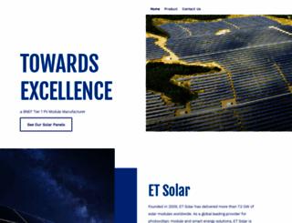etsolar.com screenshot