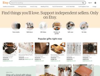 etsy.com.au screenshot