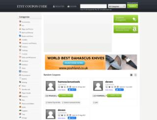 etsycouponcode.com screenshot