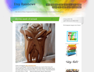 etsyrainbows.wordpress.com screenshot