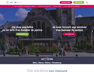 etudeacta.fr screenshot