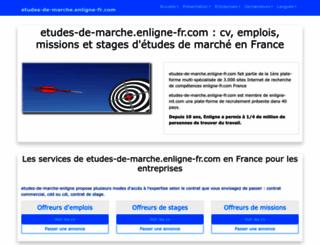 etudes-de-marche.enligne-fr.com screenshot