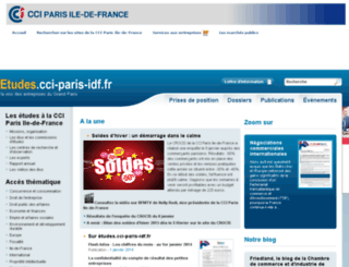 etudes.ccip.fr screenshot