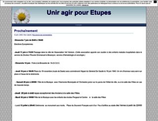 etupes.unblog.fr screenshot