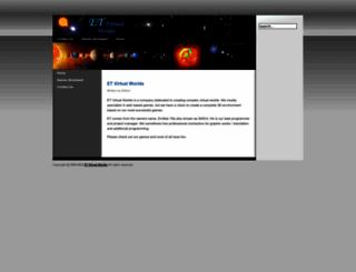 etvirtualworlds.com screenshot