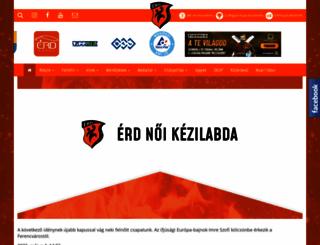etvkezilabda.hu screenshot