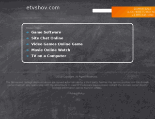 etvshov.com screenshot