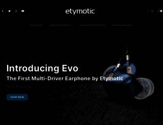 etymotic.com screenshot