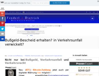 eu-recht.biz screenshot