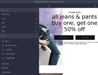 eu.abercrombiekids.com screenshot