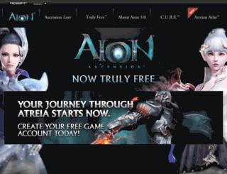 eu.aiononline.com screenshot