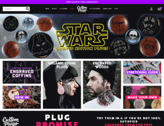 eu.customplugs.com screenshot