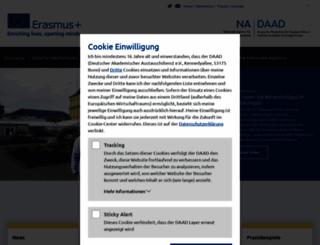 eu.daad.de screenshot