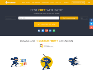 eu.hidester.com screenshot