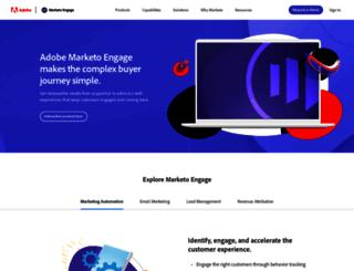 eu.marketo.com screenshot