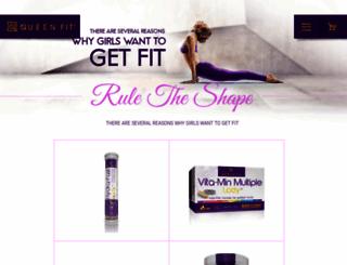 eu.queen-fit.com screenshot