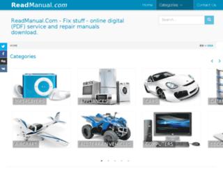 eu.readmanual.com screenshot